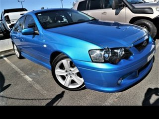 2003 Ford Falcon BA XR6 Blue 4 Speed Auto Seq Sportshift Sedan.