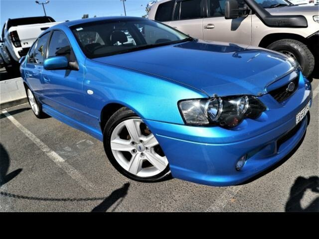 Used Ford Falcon BA XR6 Kingswood, 2003 Ford Falcon BA XR6 Blue 4 Speed Auto Seq Sportshift Sedan