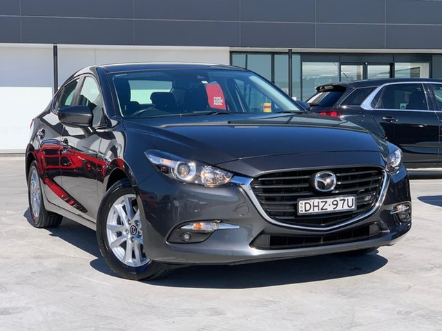 Used Mazda 3 BM5278 Maxx SKYACTIV-Drive Liverpool, 2016 Mazda 3 BM5278 Maxx SKYACTIV-Drive Grey 6 Speed Sports Automatic Sedan