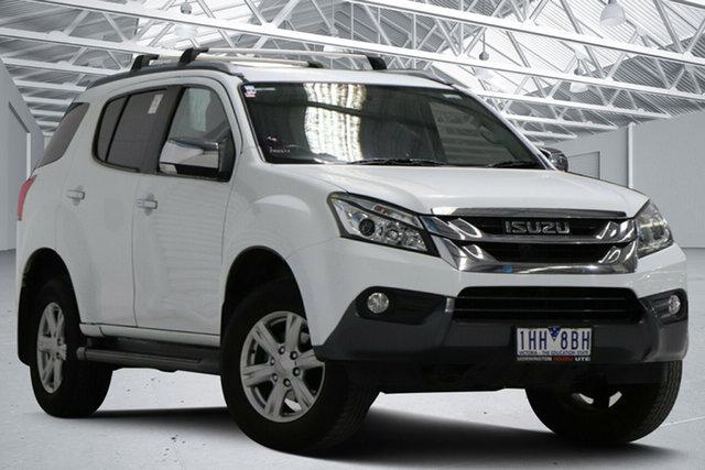 Used Isuzu MU-X UC MY15 LS-T (4x2) Altona North, 2016 Isuzu MU-X UC MY15 LS-T (4x2) White 5 Speed Automatic Wagon