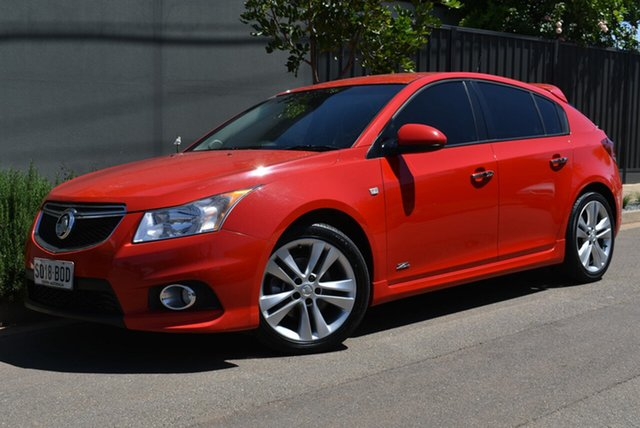 Used Holden Cruze JH Series II MY14 SRi Z Series Brighton, 2014 Holden Cruze JH Series II MY14 SRi Z Series Red 6 Speed Sports Automatic Hatchback