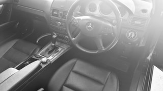 2008 Mercedes-Benz C-Class W204 C200 Kompressor Avantgarde Obsidian Black Metallic 5 Speed