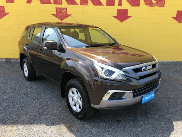 Used Isuzu MU-X MY17 LS-M Rev-Tronic 4x2 Winnellie, 2017 Isuzu MU-X MY17 LS-M Rev-Tronic 4x2 Brown 6 Speed Sports Automatic Wagon