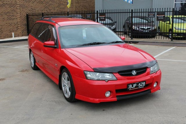 Used Holden Commodore VY SS Hoppers Crossing, 2003 Holden Commodore VY SS Red 4 Speed Automatic Wagon