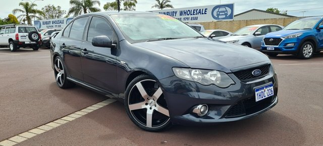 Used Ford Falcon FG XR6 East Bunbury, 2010 Ford Falcon FG XR6 Grey 5 Speed Sports Automatic Sedan