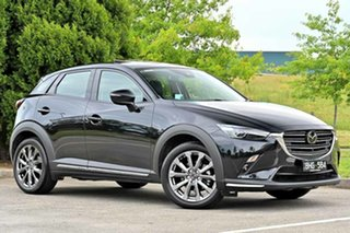 2020 Mazda CX-3 DK4W7A Akari SKYACTIV-Drive i-ACTIV AWD LE Jet Black 6 Speed Sports Automatic Wagon.