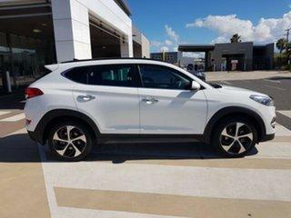 2015 Hyundai Tucson TLE Highlander AWD White 6 Speed Sports Automatic Wagon.