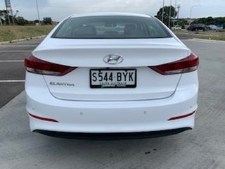 2018 Hyundai Elantra AD MY18 Elite White 6 Speed Sports Automatic Sedan