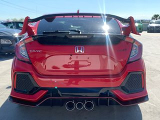 2017 Honda Civic 10th Gen MY18 Type R Red 6 Speed Manual Hatchback.
