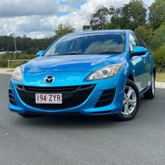 2010 Mazda 3 BL10F1 Maxx Activematic Blue 5 Speed Sports Automatic Hatchback.