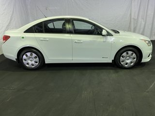 2012 Holden Cruze JH Series II MY12 CD Heron White 6 Speed Sports Automatic Sedan
