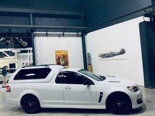 2016 Holden Ute VF II MY16 SS Ute Black White 6 Speed Manual Utility.