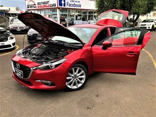 2017 Mazda 3 BN5438 SP25 SKYACTIV-Drive GT Red 6 Speed Sports Automatic Hatchback