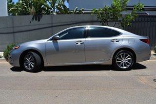 2016 Lexus ES AVV60R ES300h Luxury Silver 1 Speed Constant Variable Sedan Hybrid.