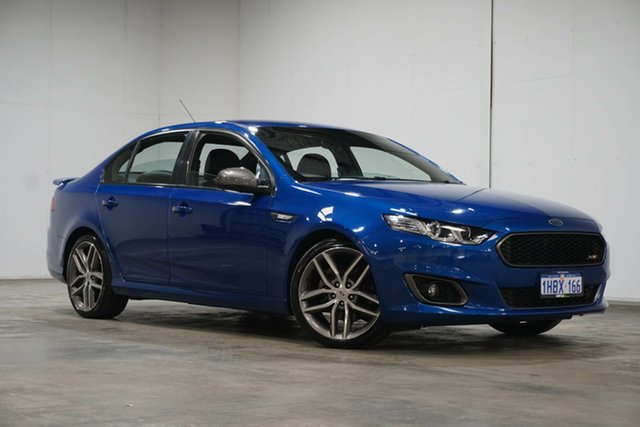 Used Ford Falcon FG X XR6 Turbo Welshpool, 2015 Ford Falcon FG X XR6 Turbo Blue 6 Speed Sports Automatic Sedan