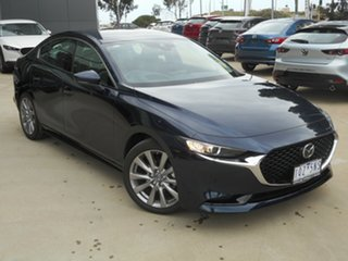 2020 Mazda 3 BP2S7A G20 SKYACTIV-Drive Touring Blue 6 Speed Sports Automatic Sedan