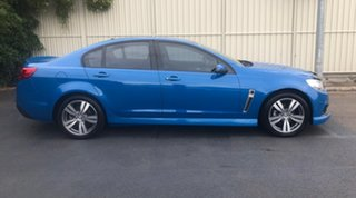 2014 Holden Commodore VF MY14 SV6 Perfect Blue 6 Speed Sports Automatic Sedan.