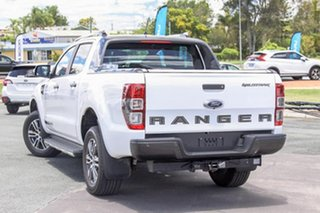 2020 Ford Ranger PX MkIII 2020.25MY Wildtrak Arctic White 10 Speed Sports Automatic