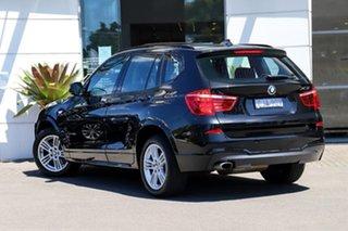 2011 BMW X3 F25 MY1011 xDrive20d Steptronic Black 8 Speed Automatic Wagon.