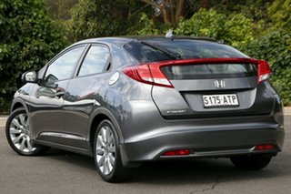 2012 Honda Civic 9th Gen VTi-L Polished Metal 5 Speed Sports Automatic Hatchback.