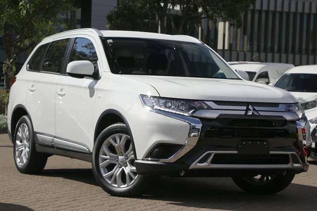 Used Mitsubishi Outlander ZL MY20 ES 7 Seat (2WD) Rosebery, 2020 Mitsubishi Outlander ZL MY20 ES 7 Seat (2WD) White Continuous Variable Wagon