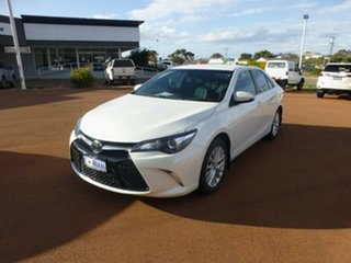2015 Toyota Camry ASV50R MY15 Atara SL Crystal Pearl 6 Speed Automatic Sedan.