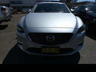 2016 Mazda 6 6C MY17 (gl) GT Silver 6 Speed Automatic Sedan