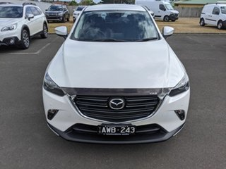 2018 Mazda CX-3 DK2W7A sTouring SKYACTIV-Drive FWD White 6 Speed Sports Automatic Wagon.