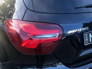 2018 Mercedes-Benz A-Class W176 808+058MY A45 AMG SPEEDSHIFT DCT 4MATIC Black 7 Speed