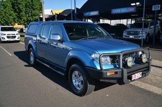 2007 Nissan Navara D40 ST-X (4x4) Blue 6 Speed Manual Dual Cab Pick-up.