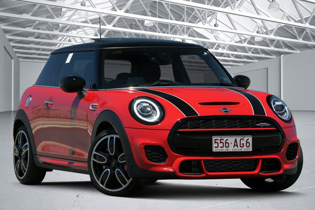 Used Mini Hatch F56 LCI John Cooper Works Eagle Farm, 2020 Mini Hatch F56 LCI John Cooper Works Chilli Red 8 Speed Sports Automatic Hatchback
