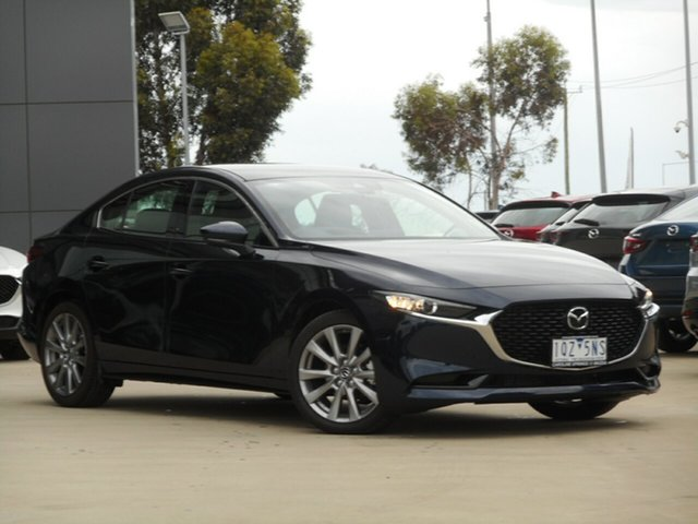 Used Mazda 3 BP2S7A G20 SKYACTIV-Drive Touring Ravenhall, 2020 Mazda 3 BP2S7A G20 SKYACTIV-Drive Touring Blue 6 Speed Sports Automatic Sedan