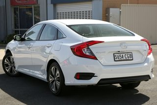 2020 Honda Civic 10th Gen MY20 VTi-L Platinum White 1 Speed Constant Variable Sedan.