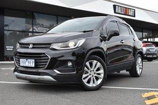 2017 Holden Trax TJ MY17 LT Black 6 Speed Automatic Wagon.