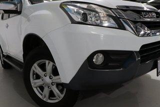 2016 Isuzu MU-X UC MY15 LS-T (4x2) White 5 Speed Automatic Wagon.