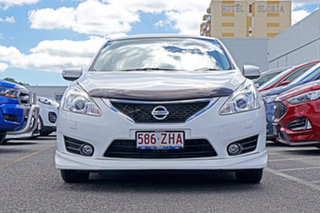 2013 Nissan Pulsar C12 SSS White 1 Speed Constant Variable Hatchback.