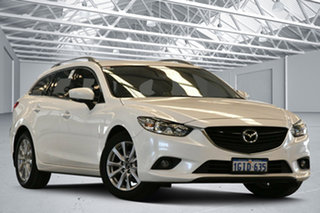 2017 Mazda 6 6C MY17 (gl) Sport Snowflake White 6 Speed Automatic Wagon.