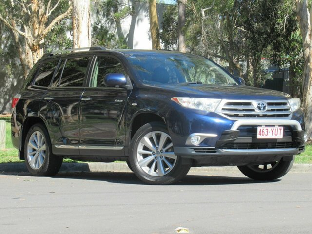 Used Toyota Kluger GSU40R MY12 Grande 2WD, 2013 Toyota Kluger GSU40R MY12 Grande 2WD Blue 5 Speed Sports Automatic Wagon