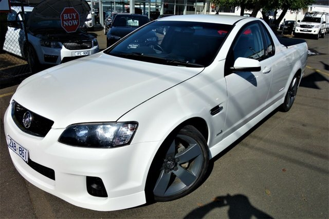 Used Holden Ute VE II MY12 SV6 Seaford, 2012 Holden Ute VE II MY12 SV6 White 6 Speed Sports Automatic Utility