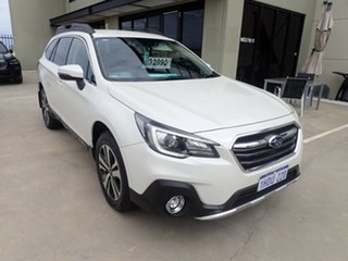 2018 Subaru Outback B6A MY19 2.5i CVT AWD White 7 Speed Constant Variable Wagon.