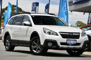 2014 Subaru Outback B5A MY14 3.6R AWD Premium Crystal White 5 Speed Sports Automatic Wagon.
