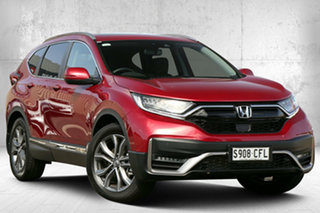 2020 Honda CR-V RW MY21 VTi 4WD LX AWD Ignite Red 1 Speed Constant Variable Wagon.