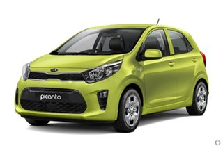 2020 Kia Picanto JA MY21 S Green 4 Speed Automatic Hatchback
