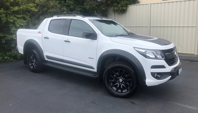Used Holden Colorado RG MY19 Z71 Pickup Crew Cab Devonport, 2019 Holden Colorado RG MY19 Z71 Pickup Crew Cab Summit White 6 Speed Sports Automatic Utility