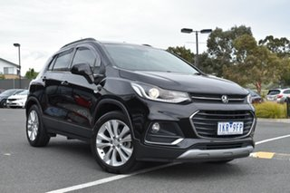 2017 Holden Trax TJ MY17 LT Black 6 Speed Automatic Wagon.