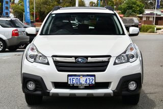 2014 Subaru Outback B5A MY14 3.6R AWD Premium Crystal White 5 Speed Sports Automatic Wagon