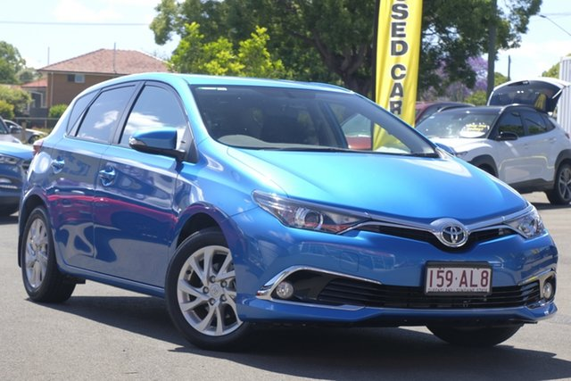 Used Toyota Corolla ZRE182R Ascent Sport S-CVT Toowoomba, 2017 Toyota Corolla ZRE182R Ascent Sport S-CVT Blue 7 Speed Constant Variable Hatchback