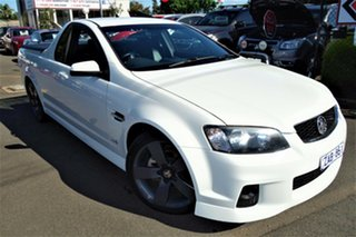 2012 Holden Ute VE II MY12 SV6 White 6 Speed Sports Automatic Utility.