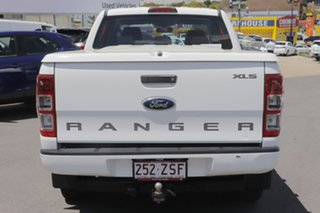 2015 Ford Ranger PX XLS Double Cab White 6 Speed Manual Utility