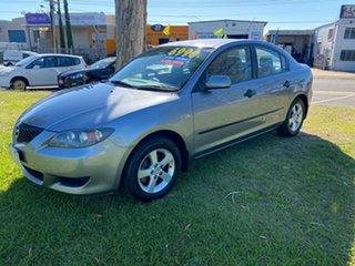 2005 Mazda 3 BK10F1 Maxx Silver Sedan.